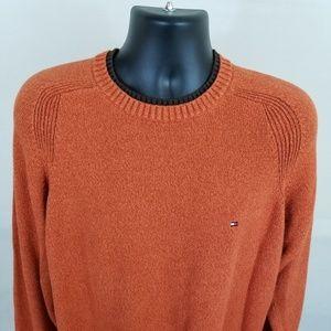 Tommy Hilfiger - Orange sweater - Large